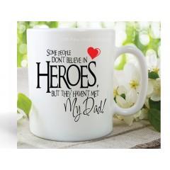 Heroes My Dad Mug
