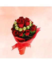 Ferraro Chocolate Flower Bouquet