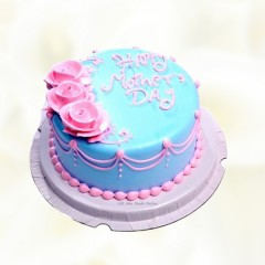 Flower Fondant Mothers Day Cake