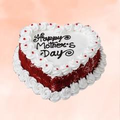 Red Velvet Mothers Day Cake