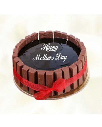 Mothers Day Kitkat Cake